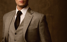 Suits dry cleaning service